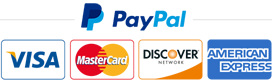Secure payments by VISA - Mastercard - Paypal
